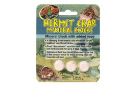 hermit crab minéral blocks
