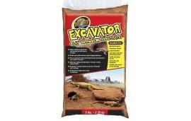Substrat excavator clay burrowing