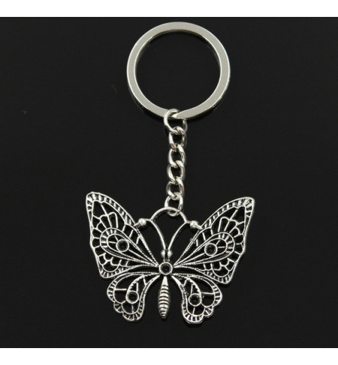 Porte-clé papillon