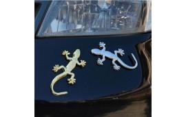 Autocollant lézard gecko