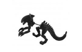 Boucle d'oreille dinosaure alien