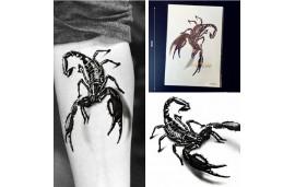 Tatouage temporaire scorpion géant