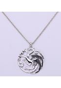 Collier pendentif dragon GOT