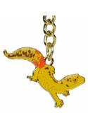 Porte-clé gecko léopard