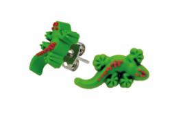 Boucle d'oreille gecko