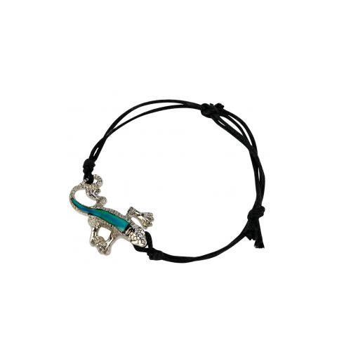 Bracelet gecko, change de couleur selon l'humeur