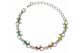 Bracelet gecko, couleur variable