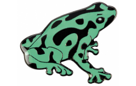Pin's dendrobate vert
