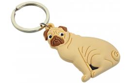Porte jeton chien en caoutchouc