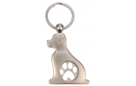 Porte jeton chien avec patte
