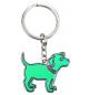 porte clé d'humeur chien