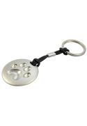 Porte-clé patte 3D