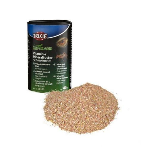 Nourriture minérale vitaminée pour insectes
