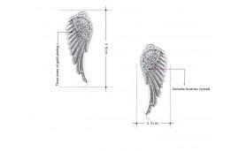 Boucles d'oreilles petites ailes
