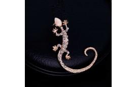 Boucle d'oreille gecko en manchette