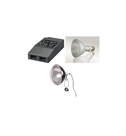 Kit Complet Lampe HQI flood prémonté
