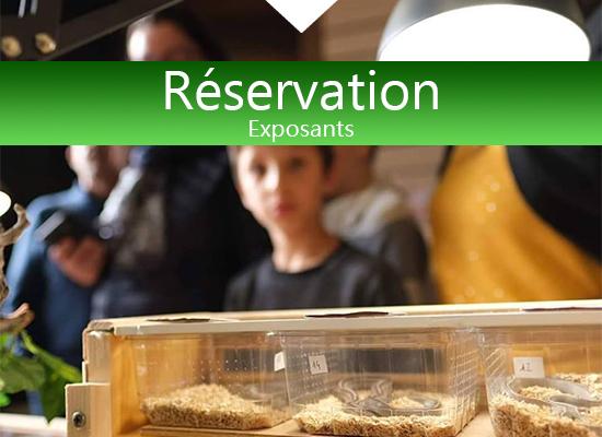 Réservation salon reptilyon